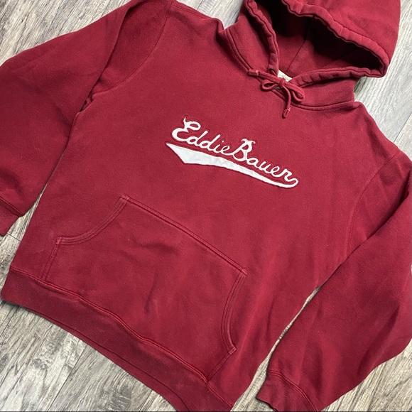 Vintage Eddie Bauer Pullover Hoodie Sweatshirt XL
